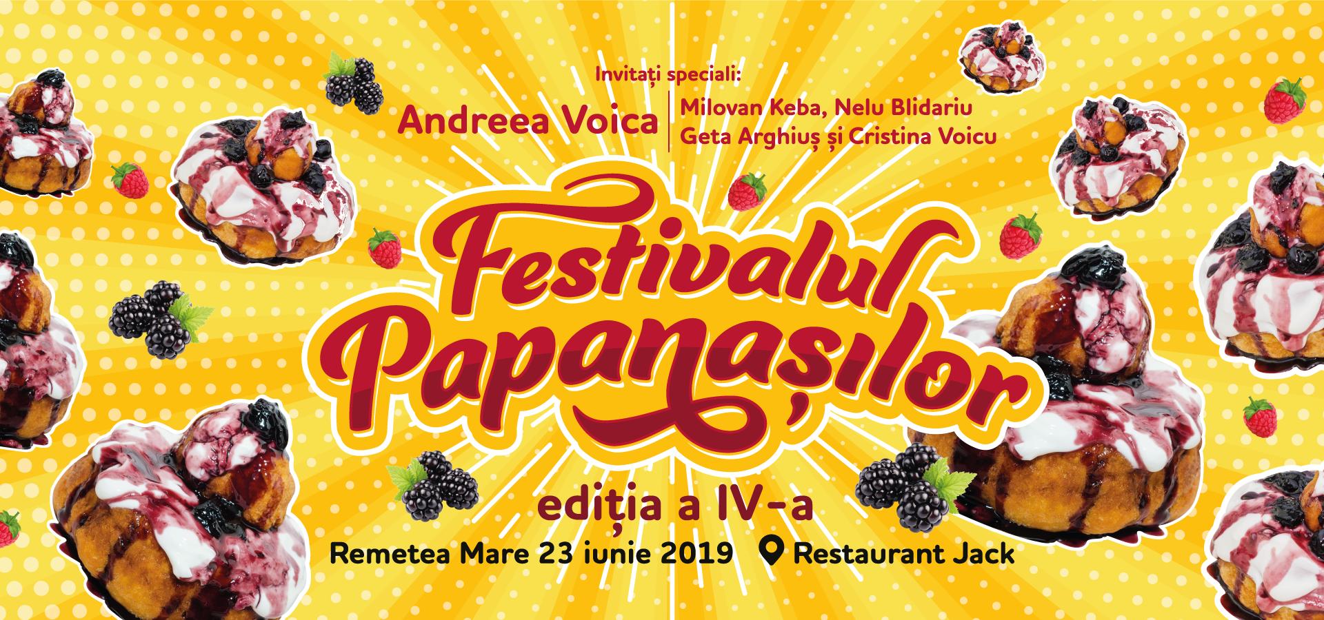Rezervă bilet la Festivalul Papanașilor